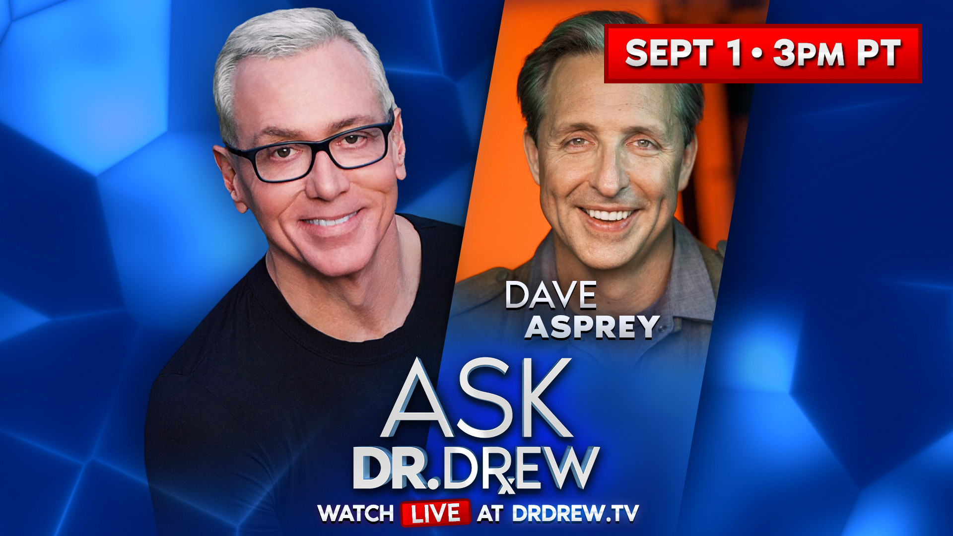 Dave Asprey – Father of Biohacking – LIVE on Ask Dr. Drew