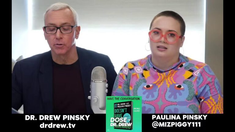 Paulina Pinsky On #DoseOfDrdrew Live! IT DOESN'T HAVE TO BE AWKWARD BOOK. drdrew.com/awkward